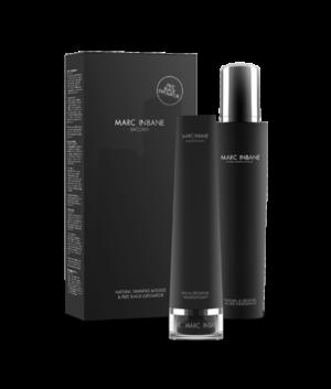 Marc Inbane Baccara set, Natural Tanning Mousse + Black Exfoliator