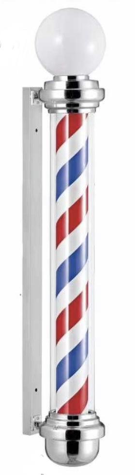 Barberpole - kapperslicht - barbierlicht 135cm