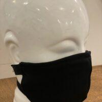 Dames mondmasker zwart