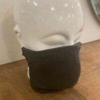 Heren mondmasker olijf