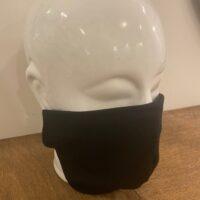 Heren mondmasker zwart
