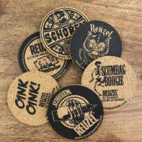 Reuzel by schorem coasters - onderzetters 6 st