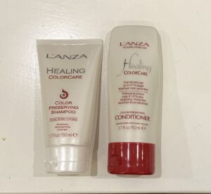 L'anza Healing colorcare Travelsize Color Perserving Shampoo & Conditioner