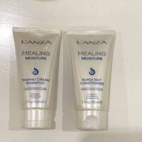 L'anza Healing Moisture Travelset - shampoo & cobditioner drooghaar