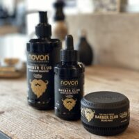 Novon barber club Baard set - Shampoo & olie & wax