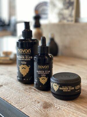 Novon barber club Baard set - Shampoo & olie & wax