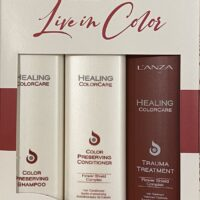 L'anza Healing Colorcare set - Shampoo & Conditioner & Treatment