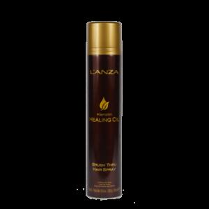 L'anza keratin healing oil -brush-thru-hair-spray 350ml